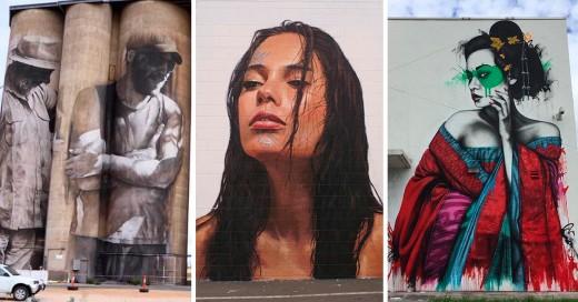obras de street art que nos impresionaron en el 2015