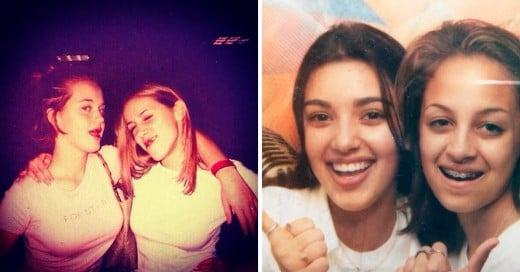 celebridades con su foto #TBT en instagram.