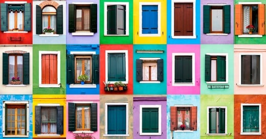 s André Vicente Goncalves y sus fotografías de puertas y ventanas