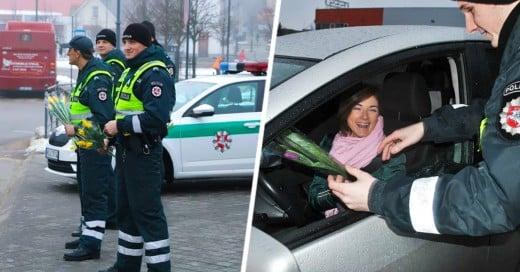 Lituania celebrando el día internacional de la mujer