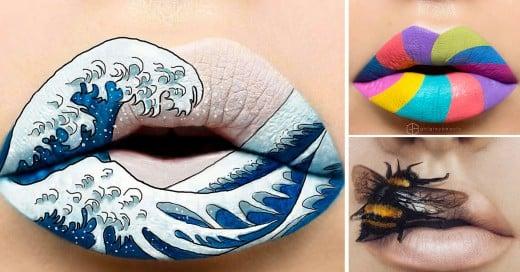 Andrea Reed y sus diseños para labios