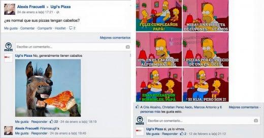 UGI'S Pizza: La pizzería que trollea a sus clientes en Facebook