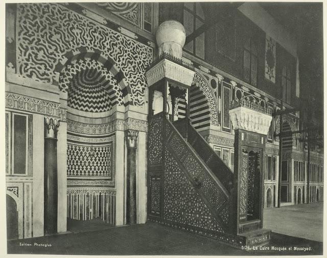 el cairo, mezquita el mouaiyad