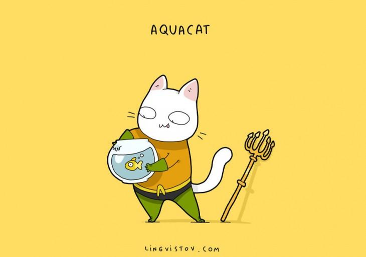 Aquacat Lingvistov