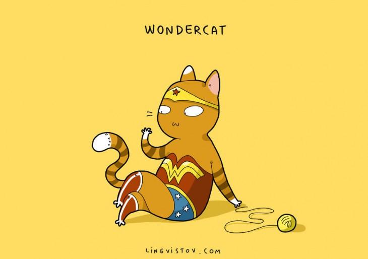 Wondercat Lingvistov