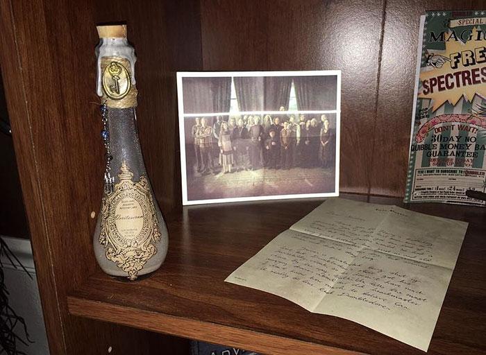cuarto decorado harry potter, foto la orden del fenix