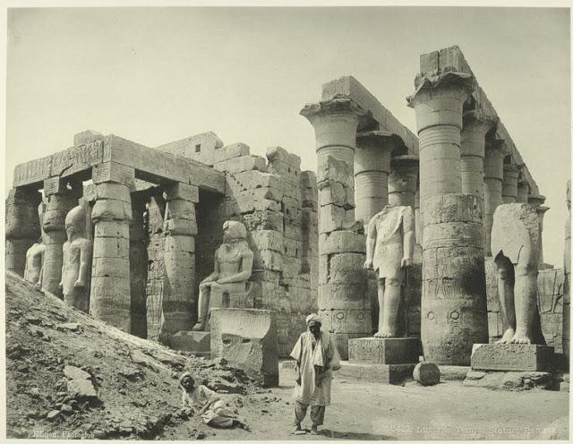 karnak, estatuas de ramses