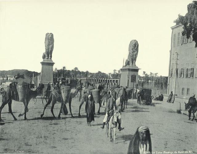 leones del puente qasr al-nil