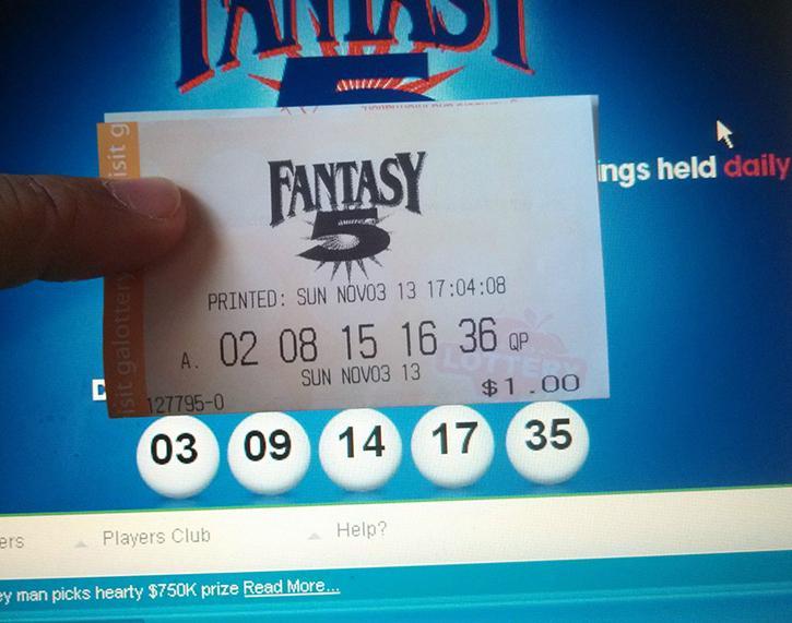 todos los números del boleto de la loterías están uno por encima del ganador