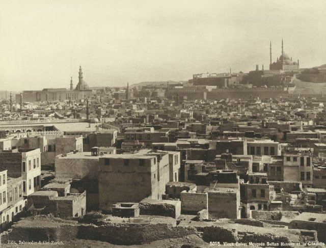 mezquita del sultan hassan y la ciudadela