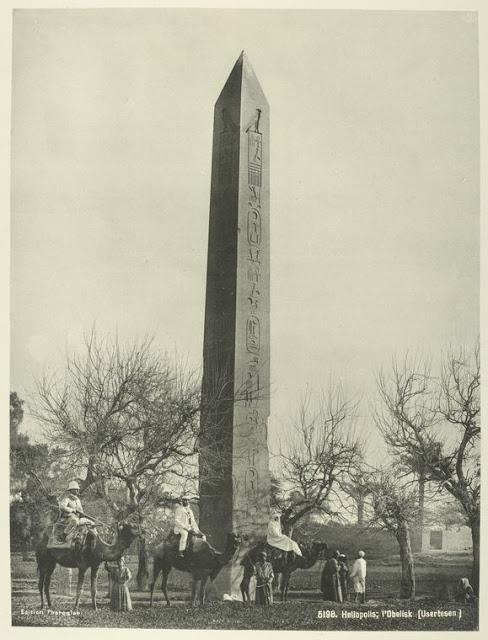 obelisco, heliopolis (el cairo)
