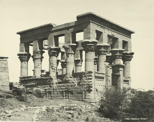 templo de la isla de file en el nilo