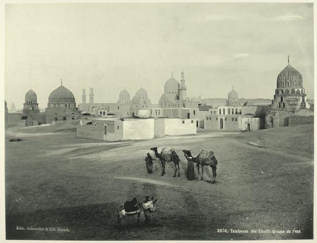 tumbas chalifs, bajo egipto