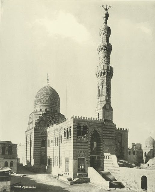 tumbas chalifs, mezquita kait bay
