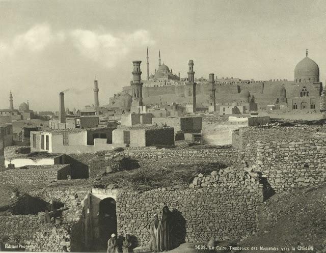 tumbas de los mamelucos en la ciudadela, el cairo