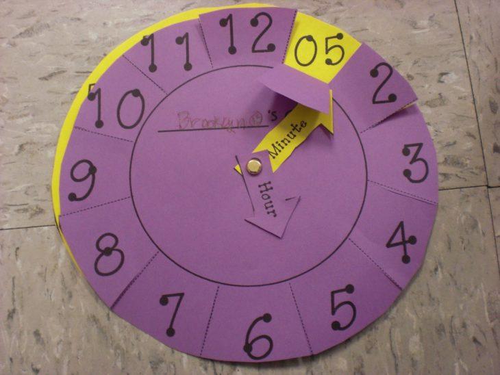 truco del reloj para aprender a ver la hora exacta
