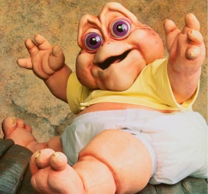 Nene Consentido, bebé de la serie de televisión Dinosaurios