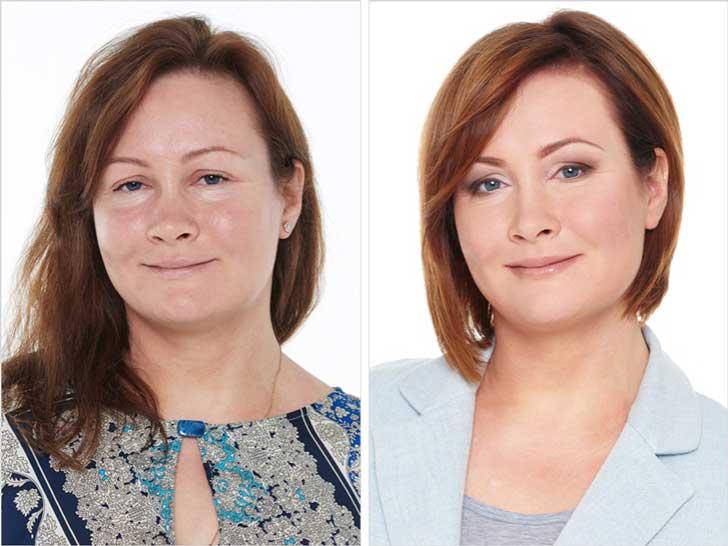 fotos antes y despues estilista ruso