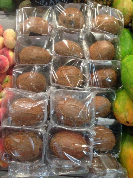 cocos empaquetados