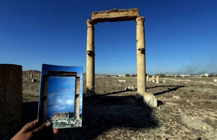 PALMIRA DESETRUIDA POR EL ISIS