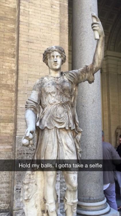 Pero antes deja me tomo una selfie