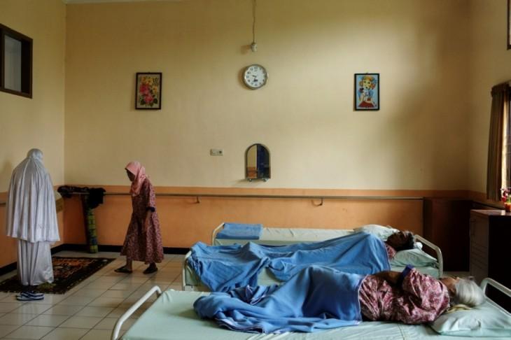 Wediodining el Hospital Psiquiátrico Lawang