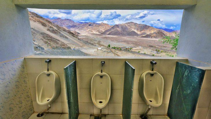 baños en la india