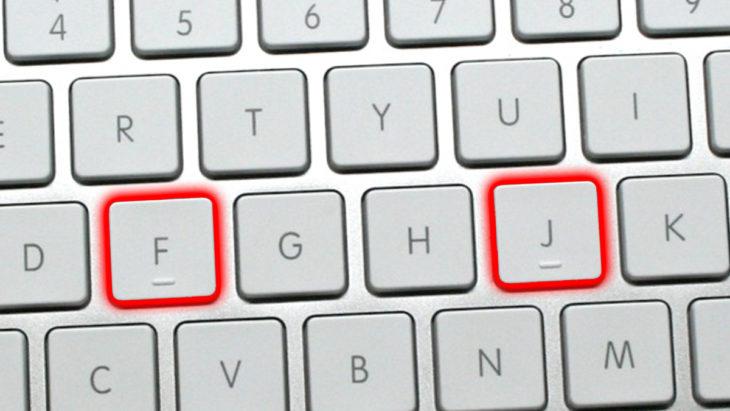 Bultos en el teclado de una mac