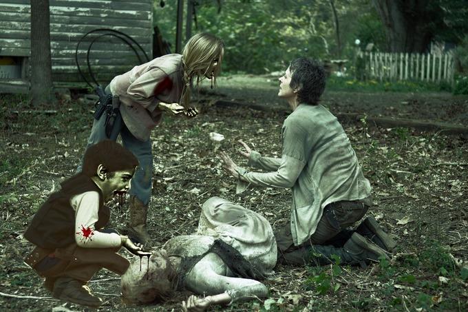 Batalla de Photoshop al niño y su perro vestidos de Han Solo y Chewbacca en una escena de la force
