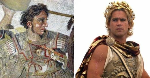 cómo lucían los personajes históricos de las películas en la vida real