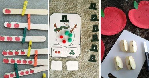 Como enseñarles matemáticas a tu hijos de una manera divertida