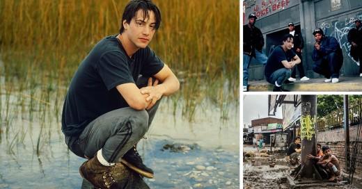 Foto Extraña De Keanu Reeves en un río e Internet lo trollea