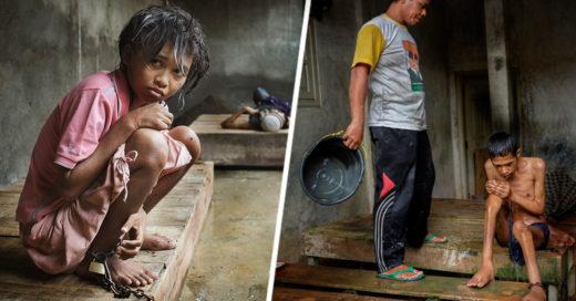otografías de la brutalidad con la que se vive en los Hospitales Mentales de Indonesia