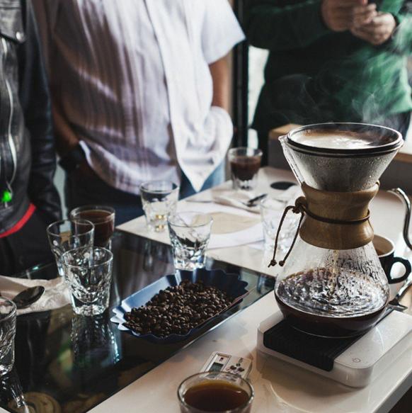 destilador de café
