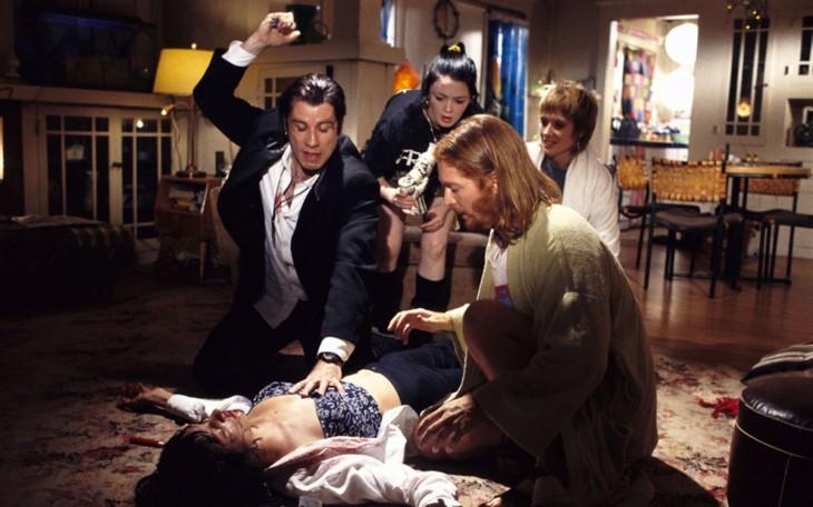 escena de la película PulpFiction con John Travolta