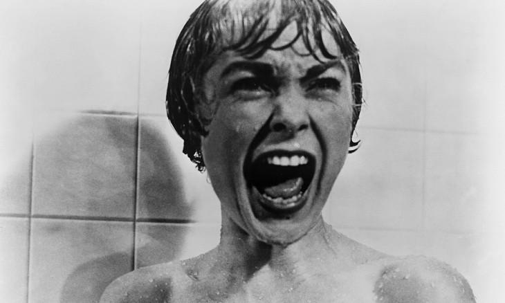 Escena del baño en la película Psicosis