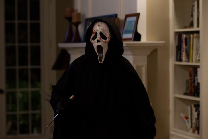 famoso personaje de la película Scream