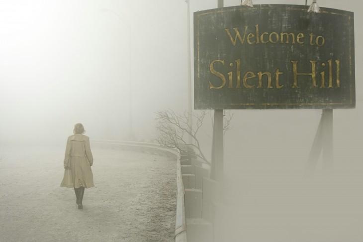escenografía de la película Terror en Silent Hill