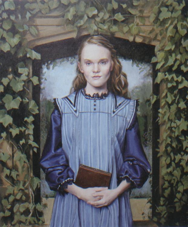 Pintura Ariana Dumbledore