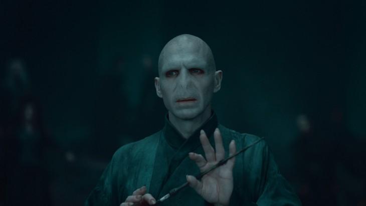 fotografía de Voldemort personaje de la saga de Harry Potter