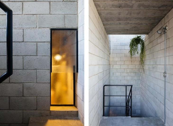 interior de la casa ganadora al premio internacional de arquitectura