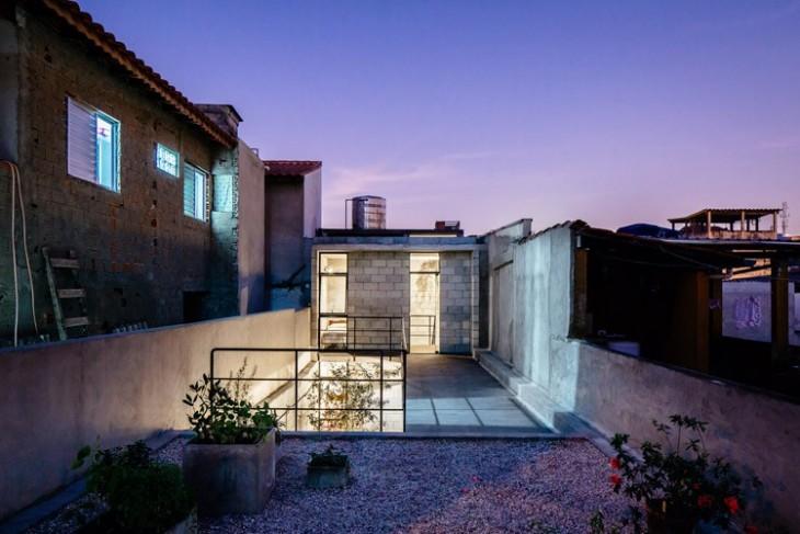 parte superior de la casa ganadora al premio internacional de arquitectura 2016