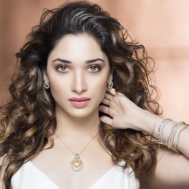 Tamanna Bhatia mujer bella de la India