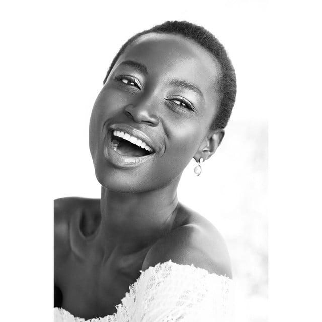 Kate Menson una mujer bella de Ghana