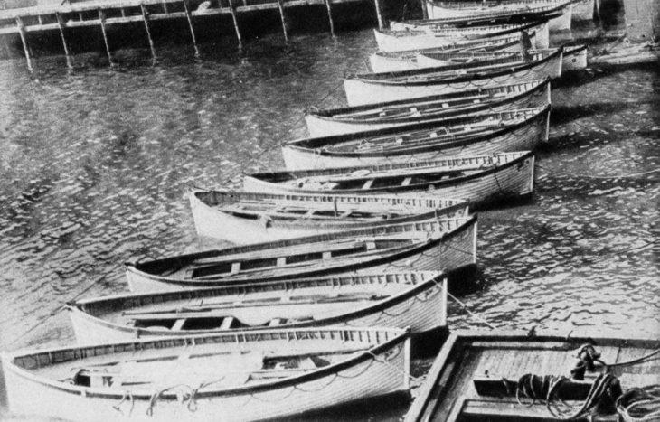 Botes salvavidas que nunca llevaron
