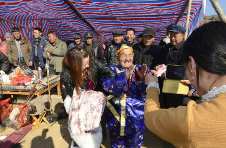 Zhang Deyang, el hombre Chino organizó su propio funeral para ver cuanta gente lo quería