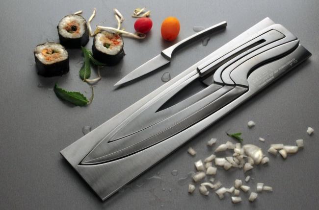 cuchillo dentro de otros cuchillos