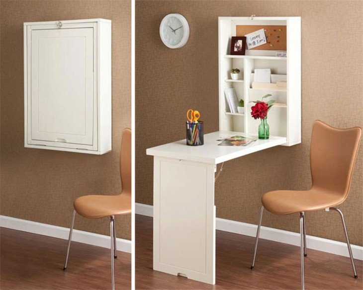 mesa plegable ideal para casas pequeñas