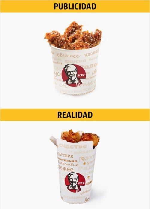 PUBLICIDAD/REALIDAD, Bites Teriyaki de KFC