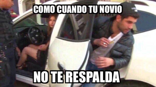 LADY 100 PESOS COMO CUANDO TU NOVIO NO TE RESPALDA